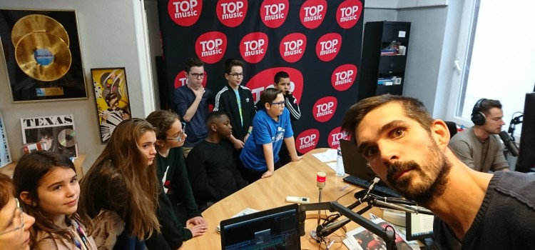 RDR radio : Visite TOP MUSIC